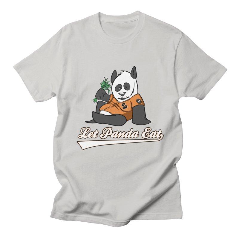 Let Panda Eat! Men's Regular T-Shirt by Coconut Justice's Artist Shop