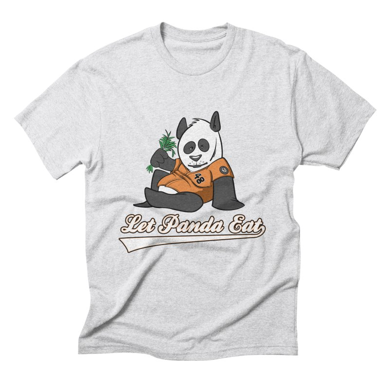 Let Panda Eat! Men's Triblend T-Shirt by Coconut Justice's Artist Shop