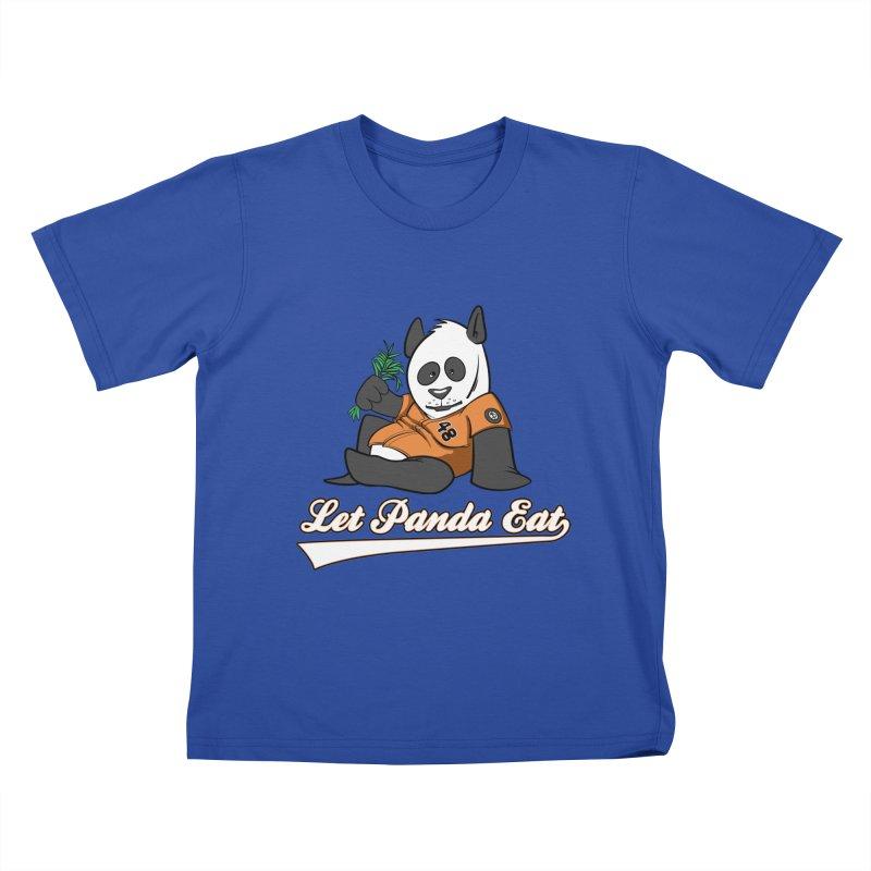 Let Panda Eat! Kids T-Shirt by Coconut Justice's Artist Shop