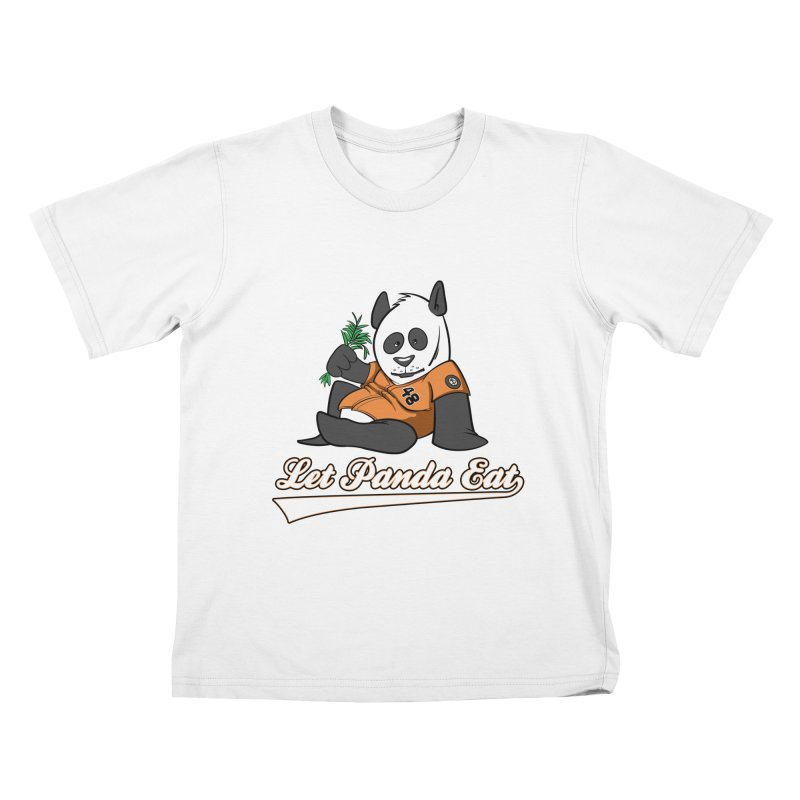 Let Panda Eat! Kids T-Shirt by Coconut Justice's Artist Shop