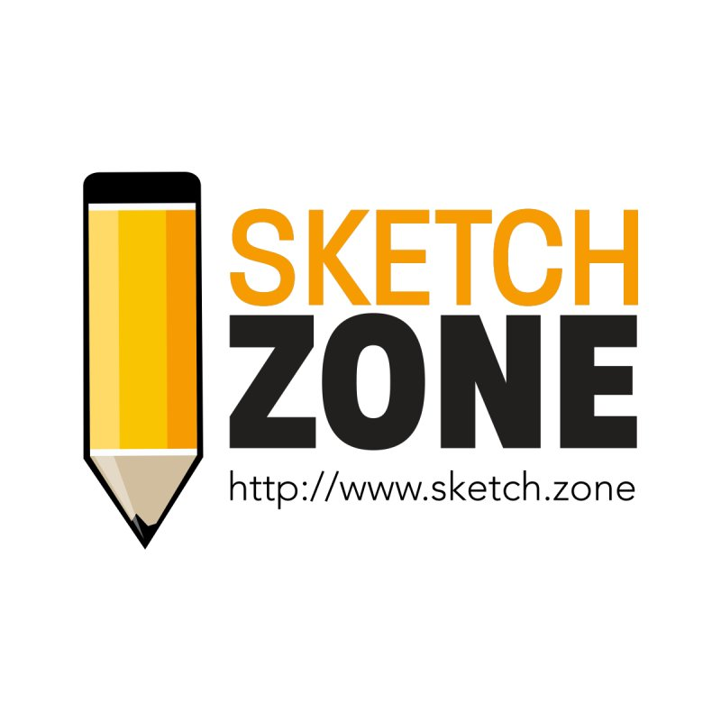 Sketch Zone Logo Large by Coconut Justice's Artist Shop