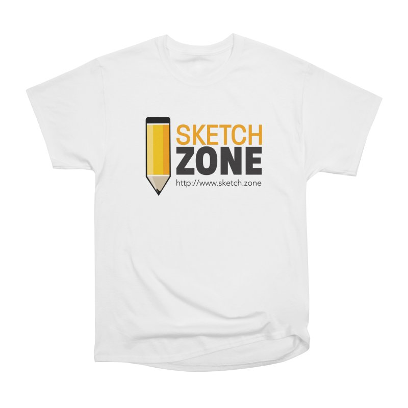 Sketch Zone Logo Large Men's Classic T-Shirt by Coconut Justice's Artist Shop