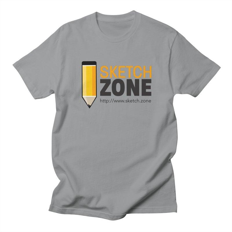 Sketch Zone Logo Large Men's T-Shirt by Coconut Justice's Artist Shop