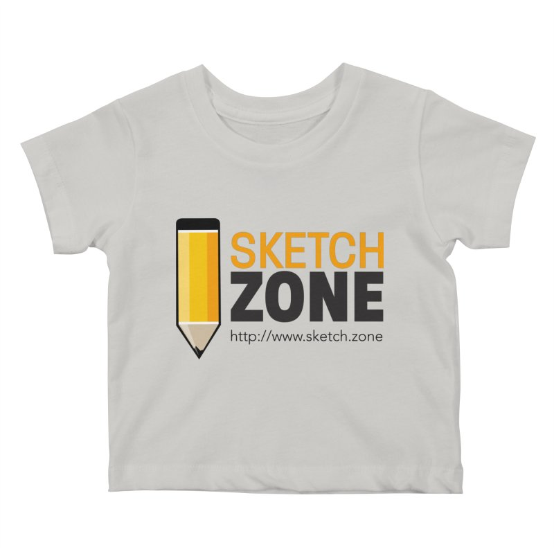 Sketch Zone Logo Large Kids Baby T-Shirt by Coconut Justice's Artist Shop