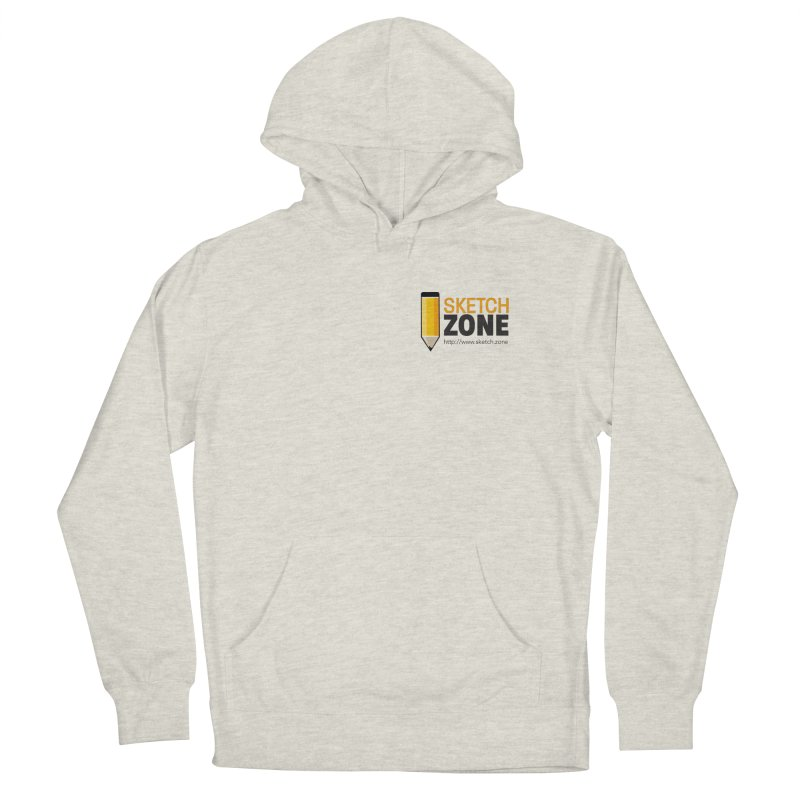 Sketch Zone Logo Small Men's Pullover Hoody by Coconut Justice's Artist Shop