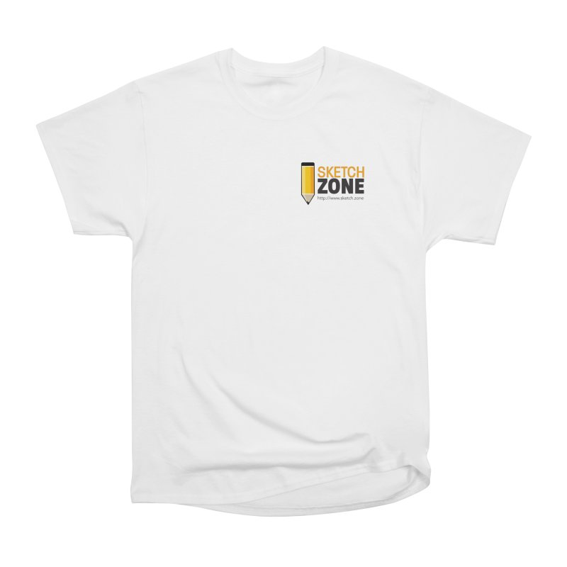Sketch Zone Logo Small Men's Classic T-Shirt by Coconut Justice's Artist Shop