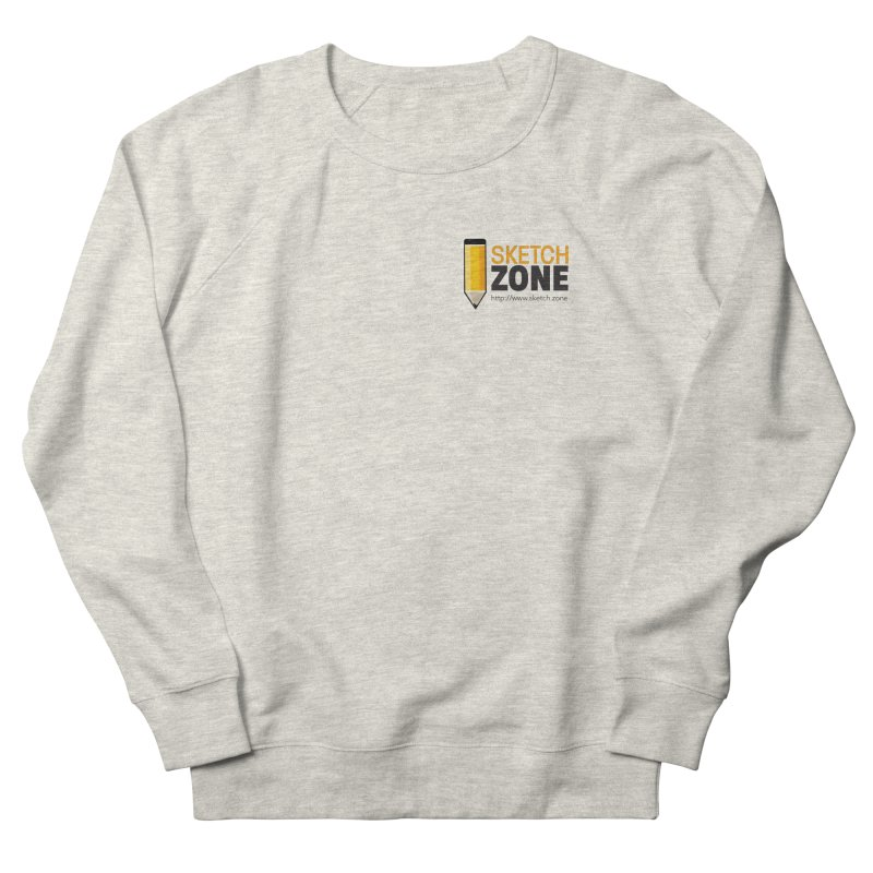 Sketch Zone Logo Small Men's French Terry Sweatshirt by Coconut Justice's Artist Shop