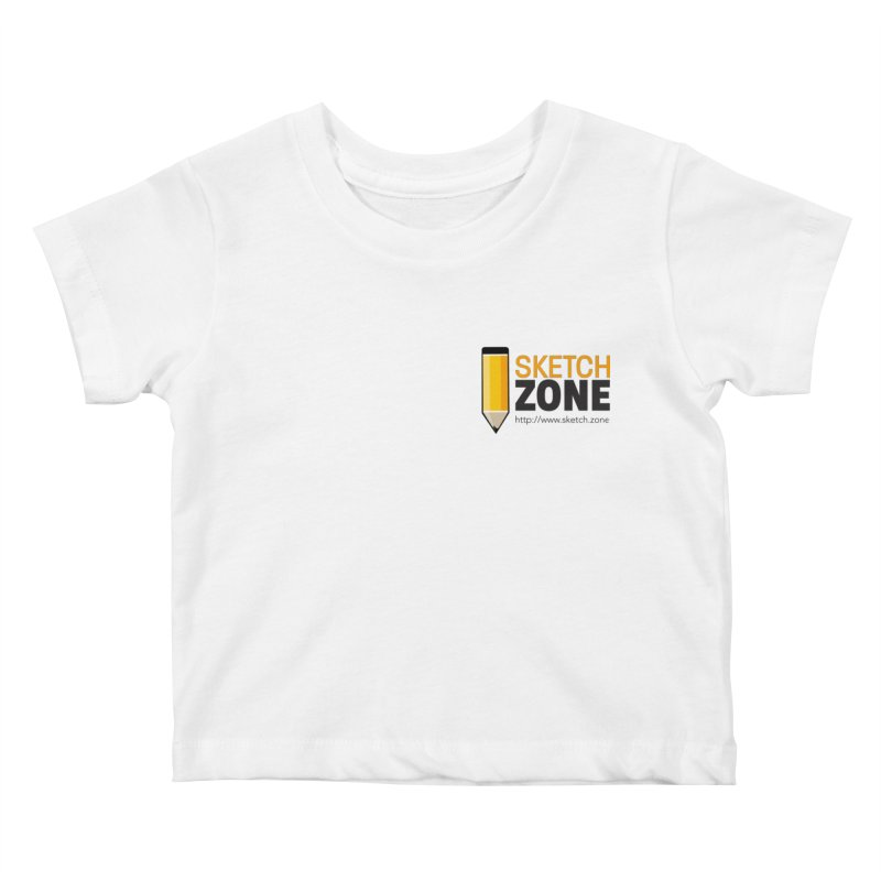 Sketch Zone Logo Small Kids Baby T-Shirt by Coconut Justice's Artist Shop