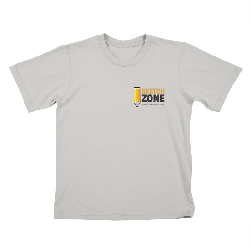 Sketch Zone Logo Small Kids T-Shirt by Coconut Justice's Artist Shop