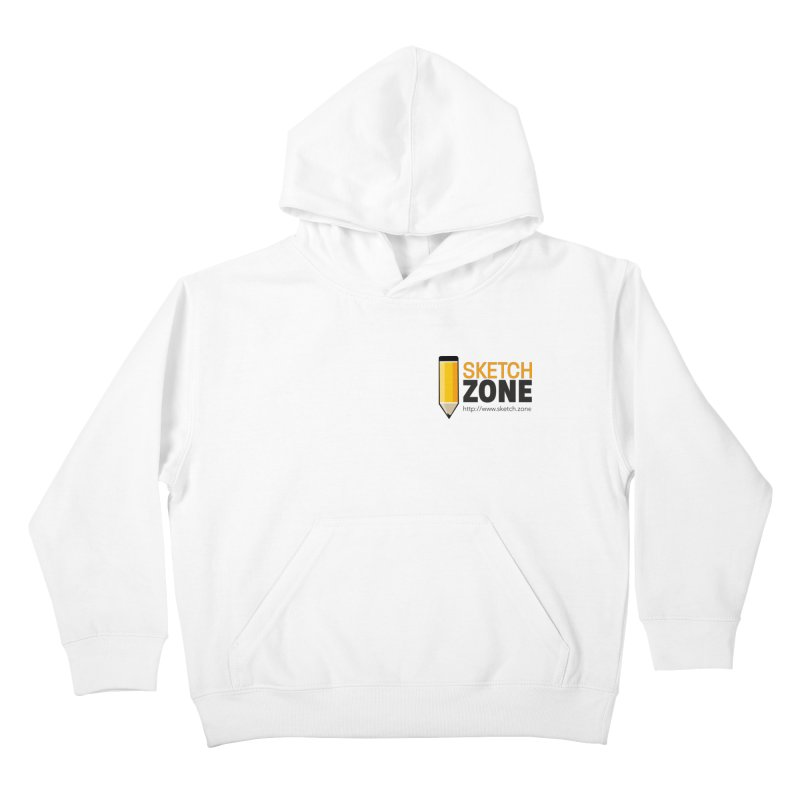 Sketch Zone Logo Small Kids Pullover Hoody by Coconut Justice's Artist Shop