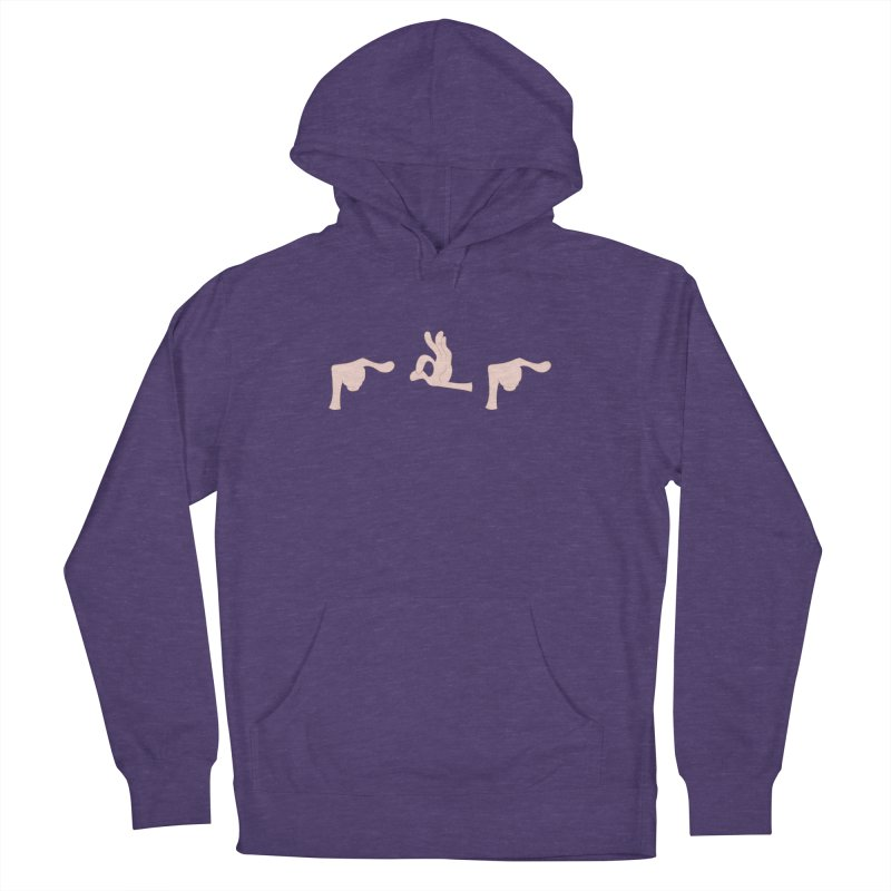 Funny Fingers - FU Women's Pullover Hoody by Coconut Justice's Artist Shop