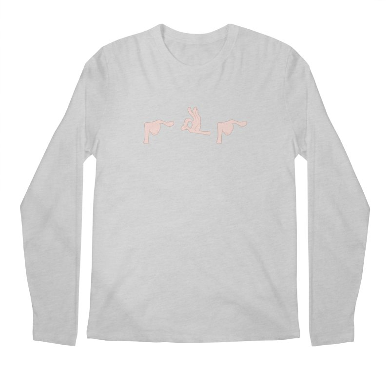 Funny Fingers - FU Men's Longsleeve T-Shirt by Coconut Justice's Artist Shop