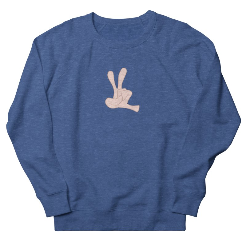 Funny Fingers - Peace Men's Sweatshirt by Coconut Justice's Artist Shop