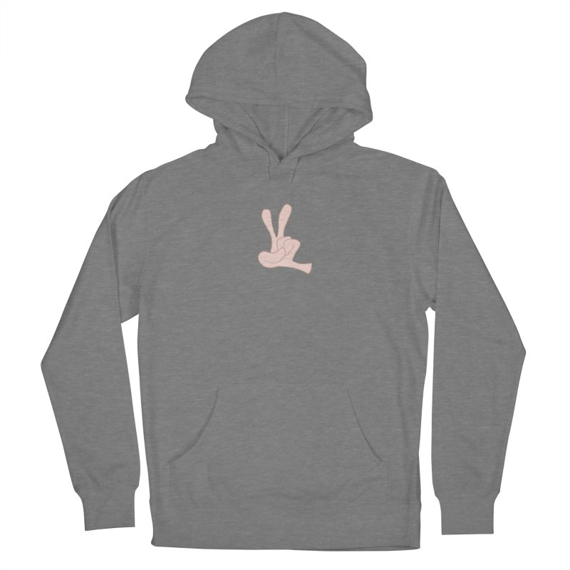 Funny Fingers - Peace Men's French Terry Pullover Hoody by Coconut Justice's Artist Shop