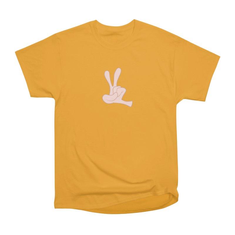 Funny Fingers - Peace Women's Classic Unisex T-Shirt by Coconut Justice's Artist Shop