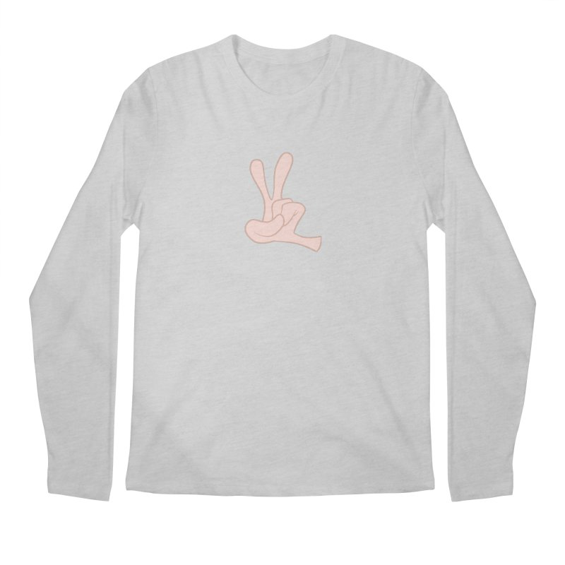 Funny Fingers - Peace Men's  by Coconut Justice's Artist Shop