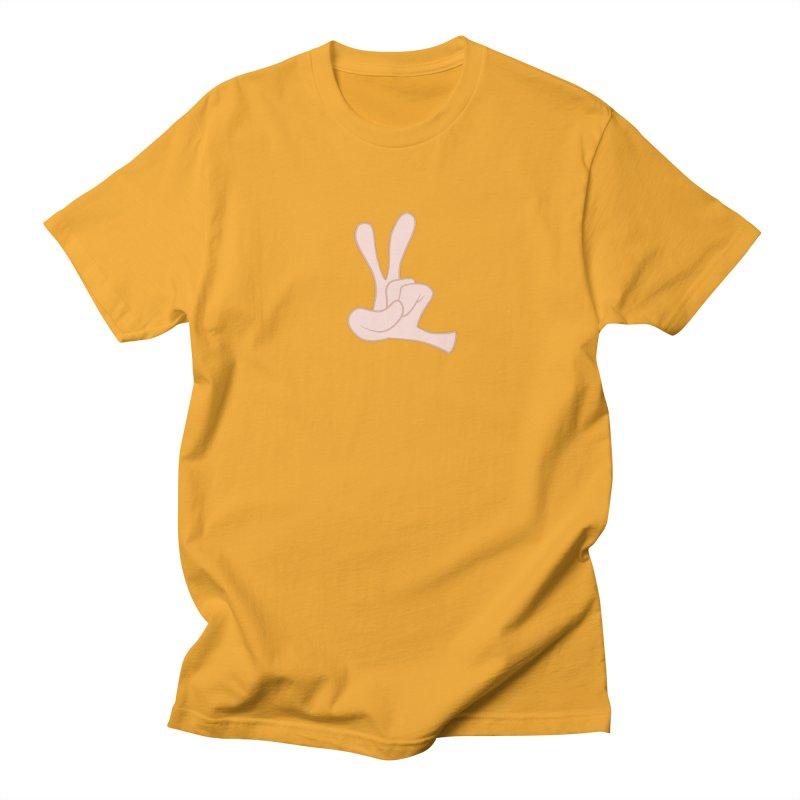 Funny Fingers - Peace Men's T-Shirt by Coconut Justice's Artist Shop