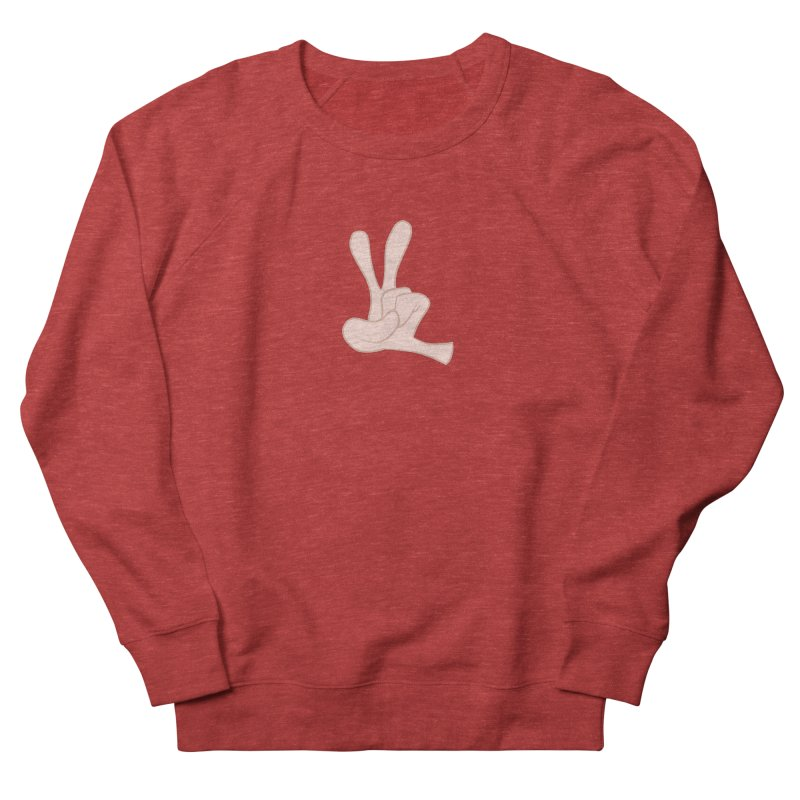 Funny Fingers - Peace Women's Sweatshirt by Coconut Justice's Artist Shop