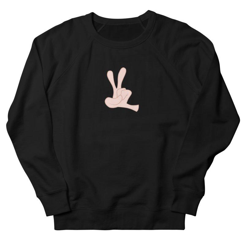 Funny Fingers - Peace Men's Sweatshirt by Coconut Justice's Artist Shop