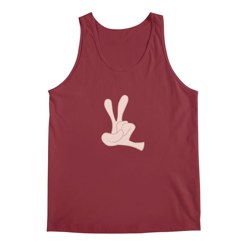 Funny Fingers - Peace Men's Tank by Coconut Justice's Artist Shop