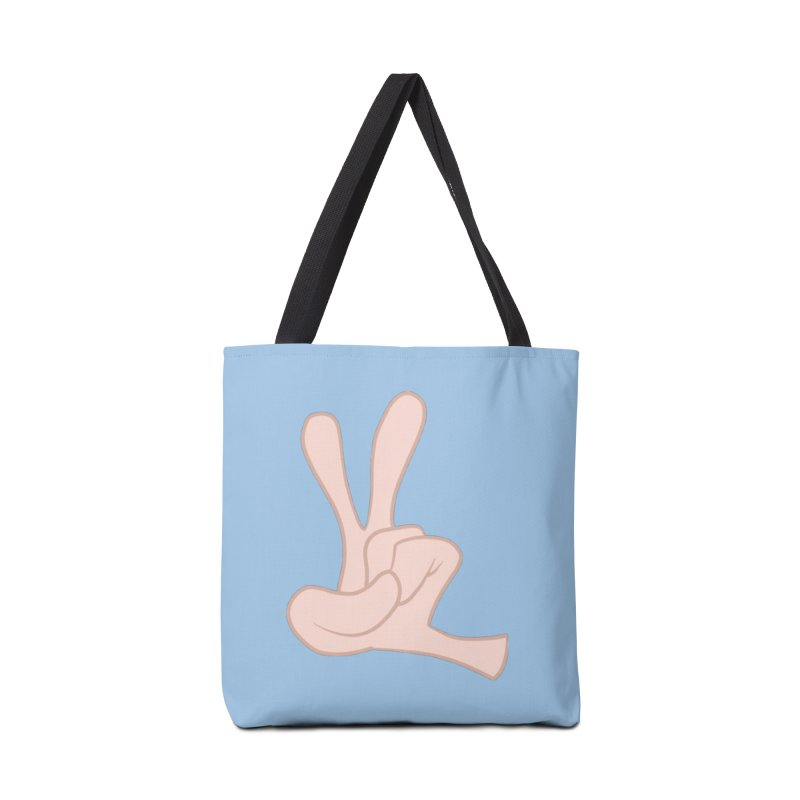 Funny Fingers - Peace Accessories Tote Bag Bag by Coconut Justice's Artist Shop