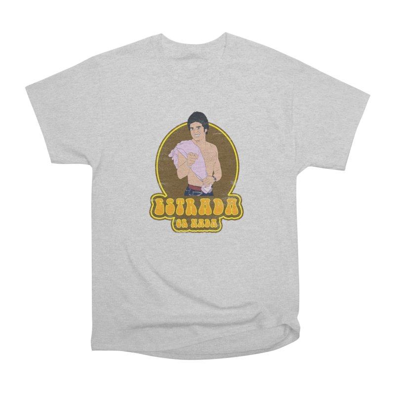 Estrada or Nada Men's Heavyweight T-Shirt by Coconut Justice's Artist Shop