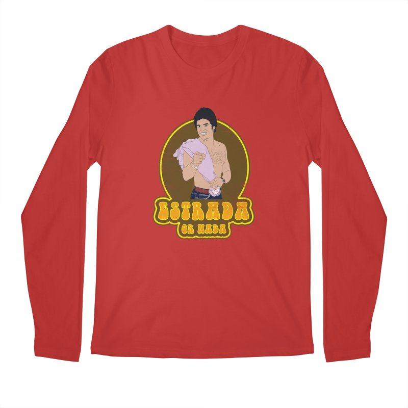 Estrada or Nada Men's Regular Longsleeve T-Shirt by Coconut Justice's Artist Shop
