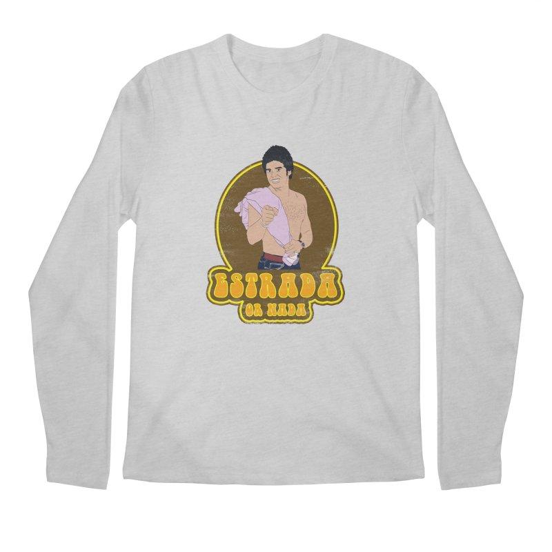 Estrada or Nada Men's Regular Longsleeve T-Shirt by Coconut Justice's Artist Shop
