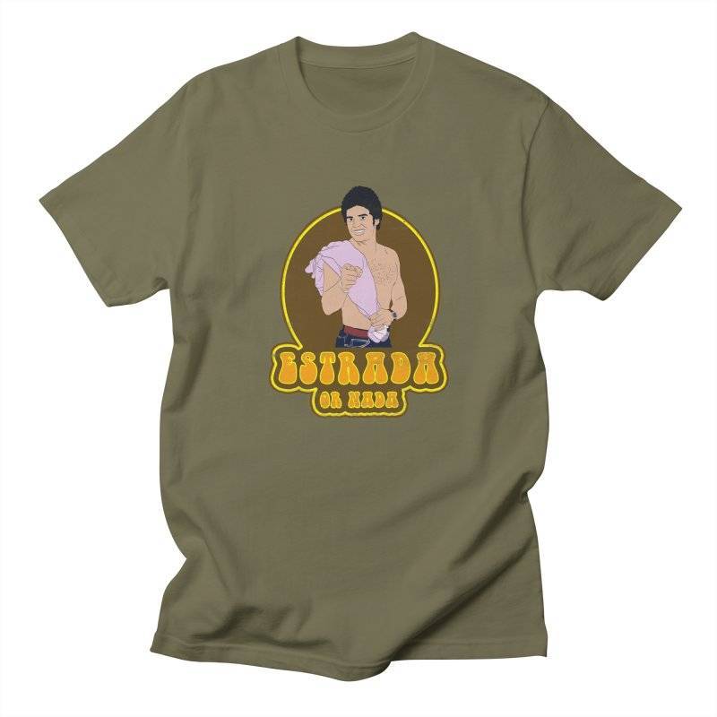 Estrada or Nada Men's T-Shirt by Coconut Justice's Artist Shop