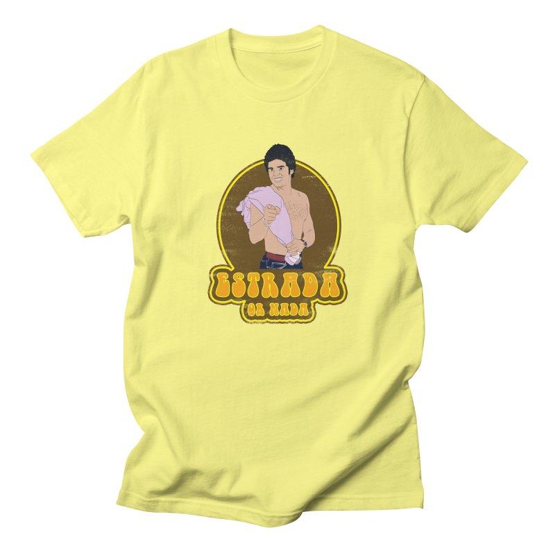 Estrada or Nada Men's T-Shirt by Coconut Justice's Artist Shop