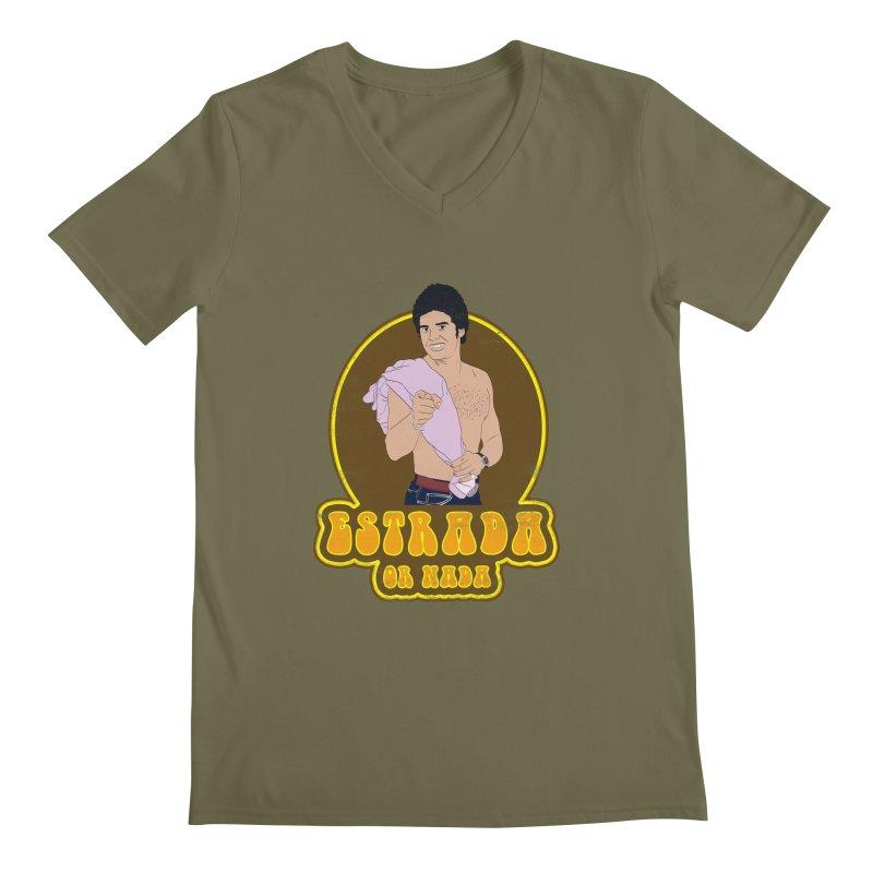 Estrada or Nada Men's V-Neck by Coconut Justice's Artist Shop