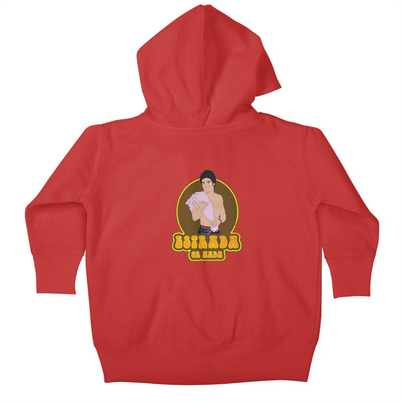 Estrada or Nada Kids Baby Zip-Up Hoody by Coconut Justice's Artist Shop