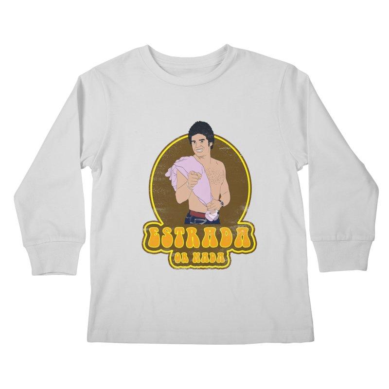 Estrada or Nada Kids Longsleeve T-Shirt by Coconut Justice's Artist Shop