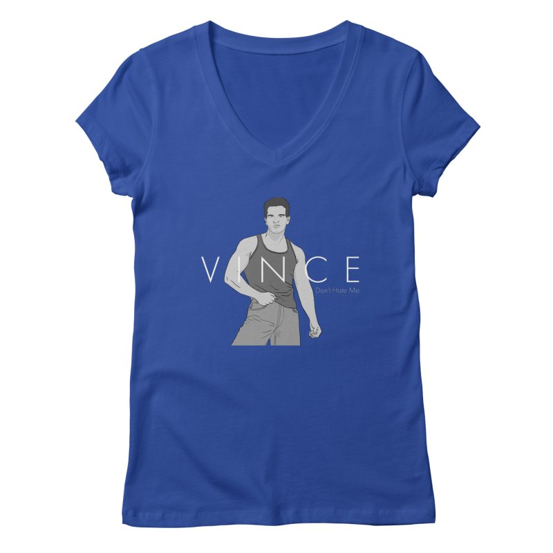 Vince - Don't Hate Me Women's Regular V-Neck by Coconut Justice's Artist Shop