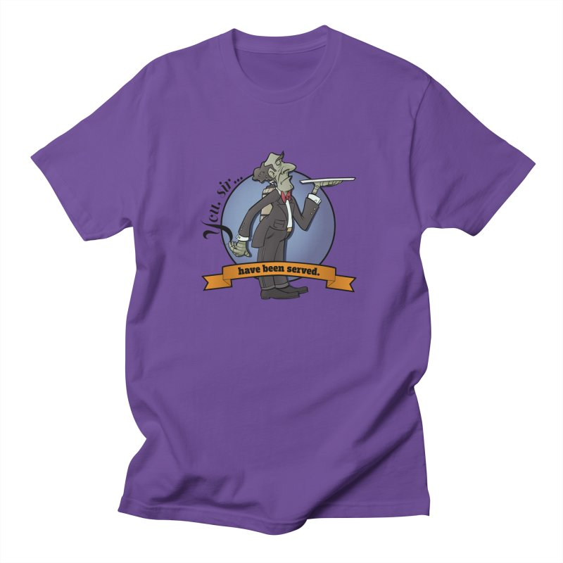 You, sir...have been served. Women's Regular Unisex T-Shirt by Coconut Justice's Artist Shop