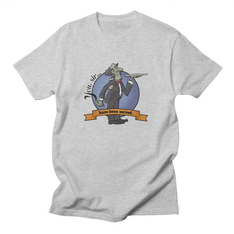 You, sir...have been served. Men's T-Shirt by Coconut Justice's Artist Shop