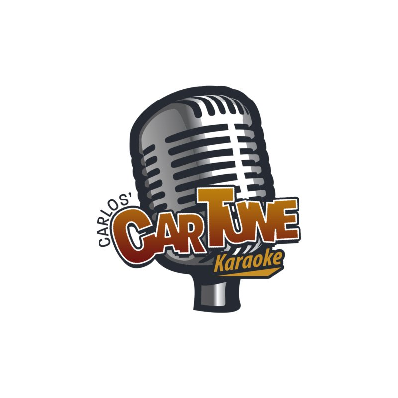 Carlos' CarTune Karaoke Logo by Coconut Justice's Artist Shop