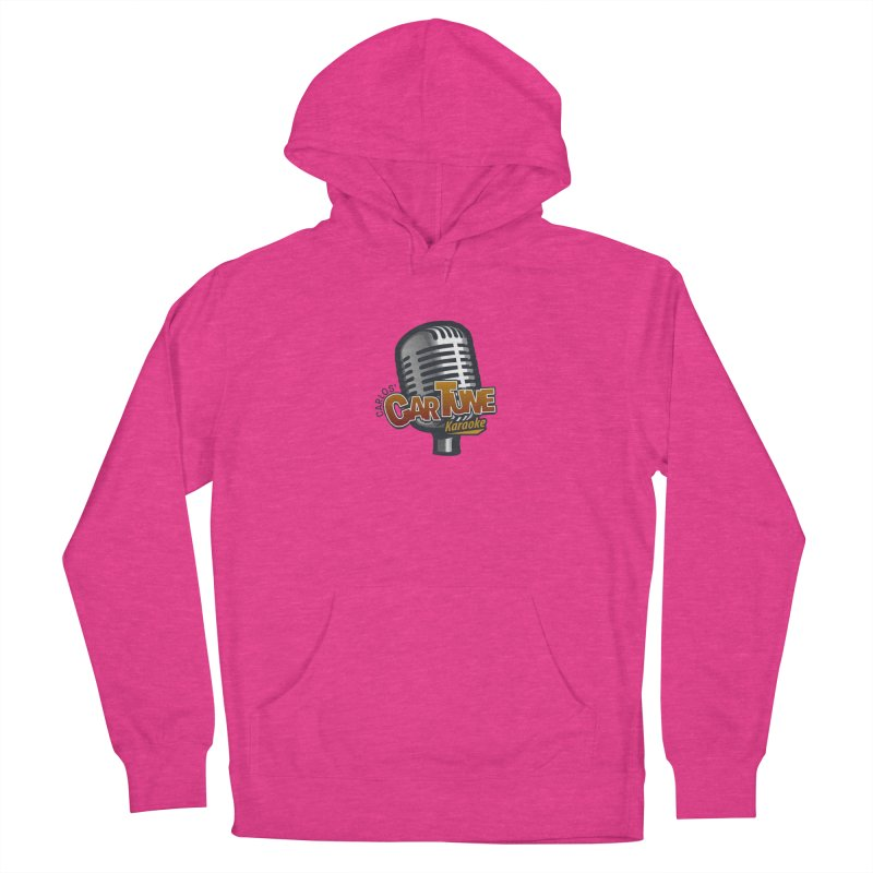 Carlos' CarTune Karaoke Logo Women's French Terry Pullover Hoody by Coconut Justice's Artist Shop