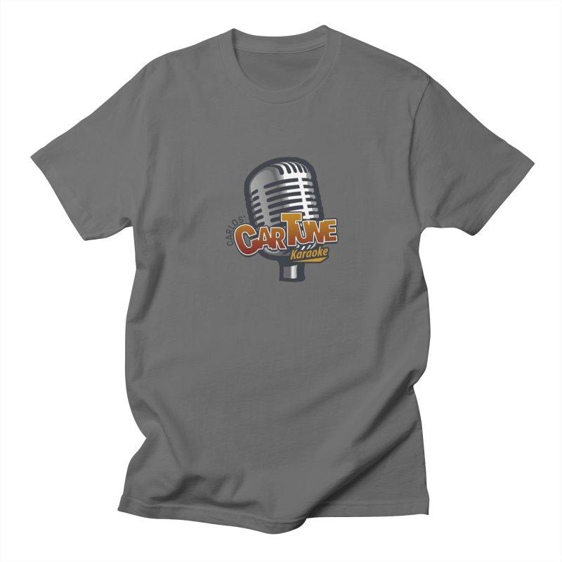 Carlos' CarTune Karaoke Logo Men's T-Shirt by Coconut Justice's Artist Shop