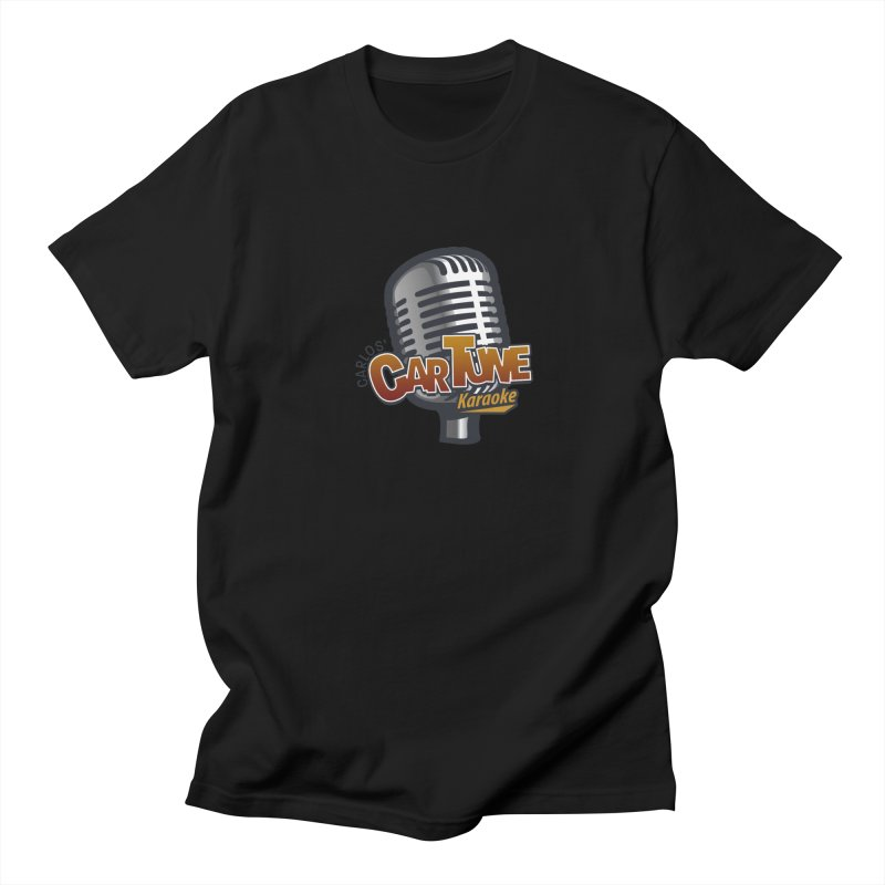 Carlos' CarTune Karaoke Logo Men's Regular T-Shirt by Coconut Justice's Artist Shop