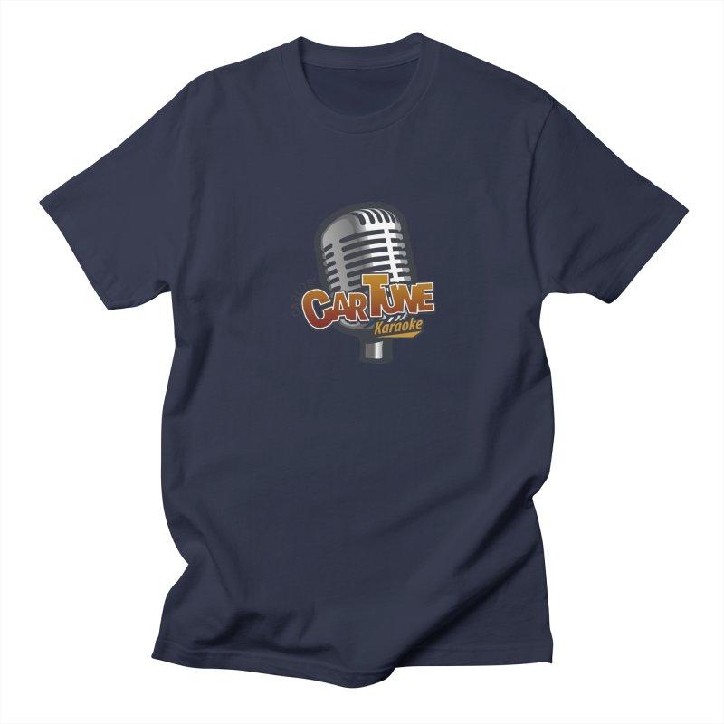 Carlos' CarTune Karaoke Logo Men's Regular T-Shirt by Coconut Justice's Artist Shop