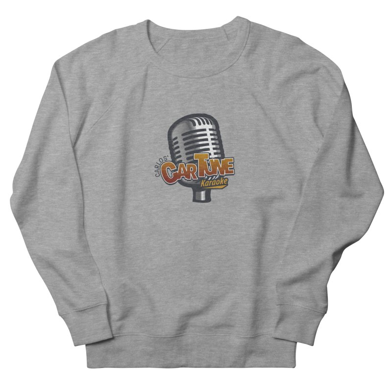Carlos' CarTune Karaoke Logo Men's French Terry Sweatshirt by Coconut Justice's Artist Shop
