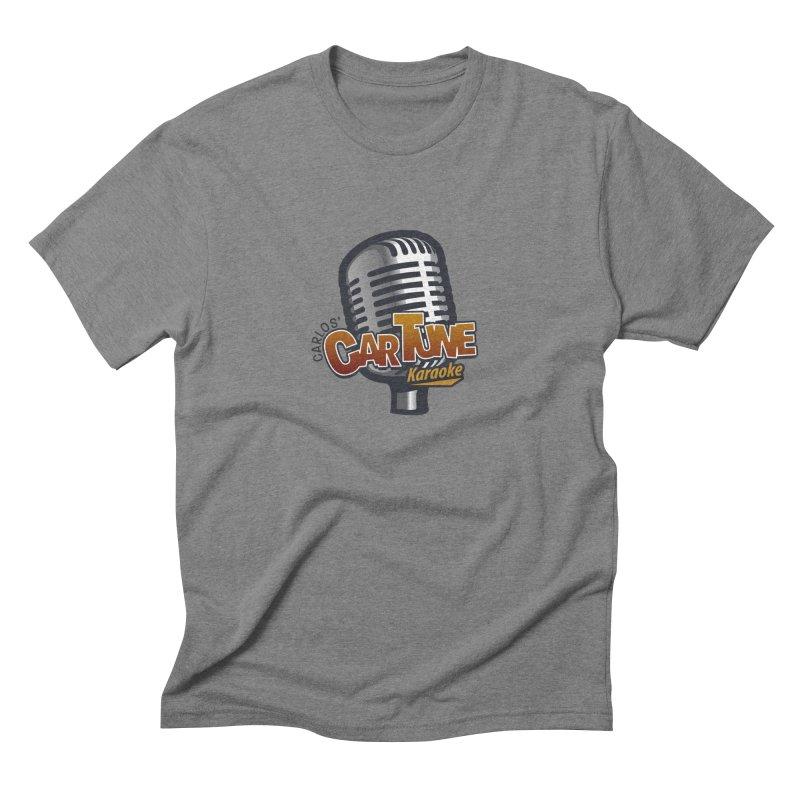 Carlos' CarTune Karaoke Logo Men's Triblend T-Shirt by Coconut Justice's Artist Shop