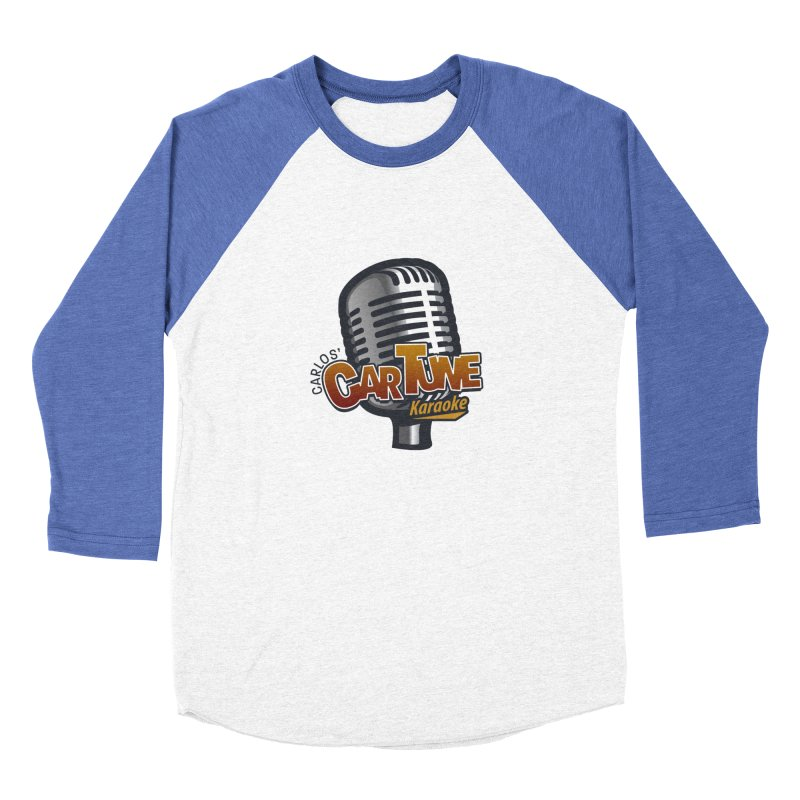 Carlos' CarTune Karaoke Logo Women's Baseball Triblend Longsleeve T-Shirt by Coconut Justice's Artist Shop