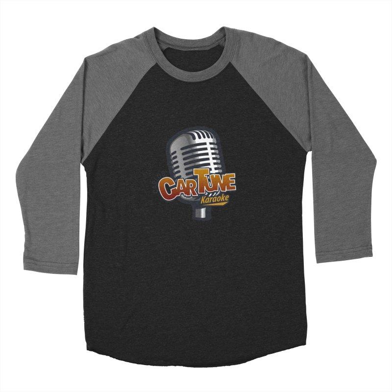 Carlos' CarTune Karaoke Logo Women's Baseball Triblend Longsleeve T-Shirt by Coconut Justice's Artist Shop