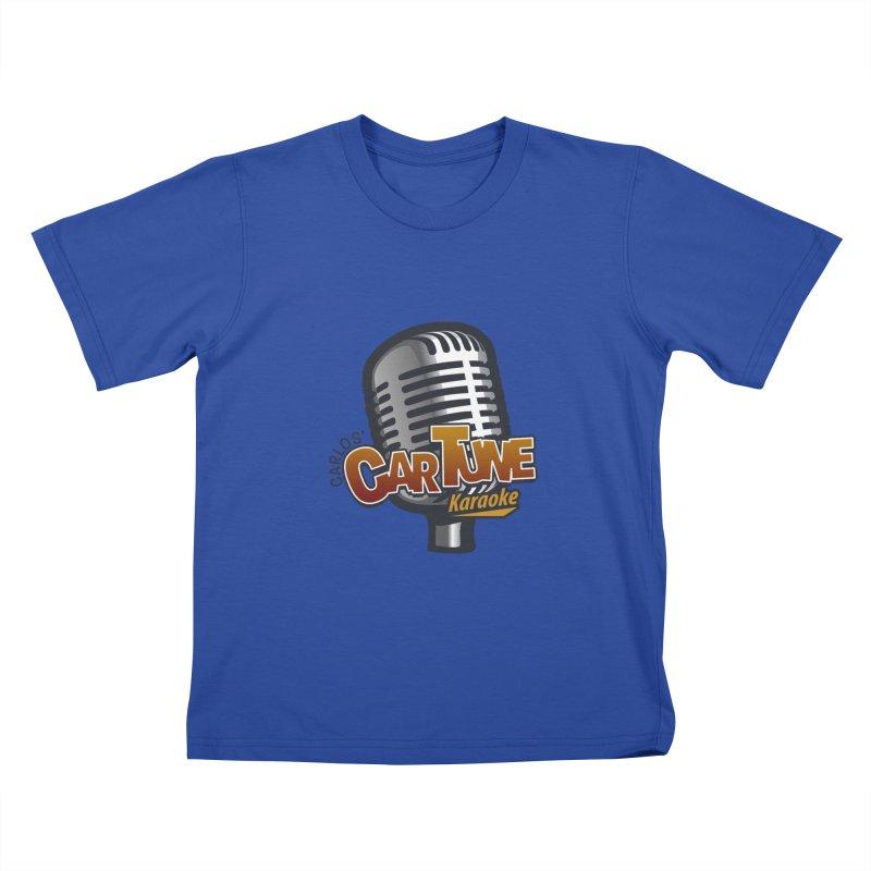 Carlos' CarTune Karaoke Logo Kids T-Shirt by Coconut Justice's Artist Shop