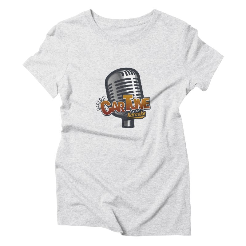 Carlos' CarTune Karaoke Logo Women's T-Shirt by Coconut Justice's Artist Shop