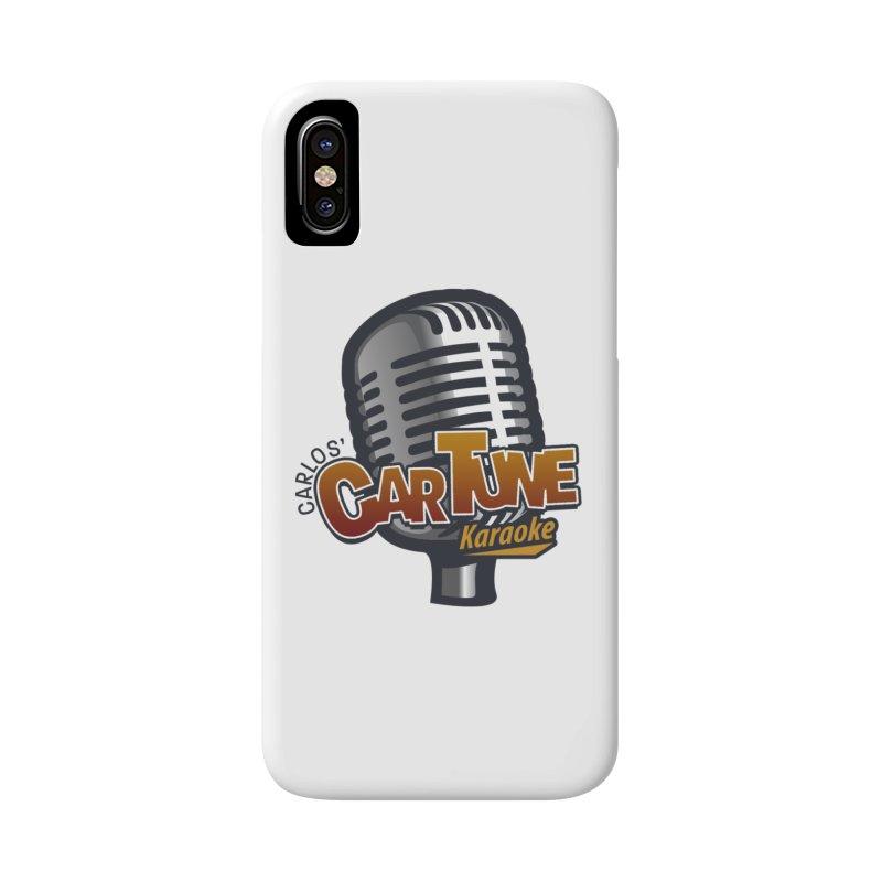 Carlos' CarTune Karaoke Logo Accessories Phone Case by Coconut Justice's Artist Shop