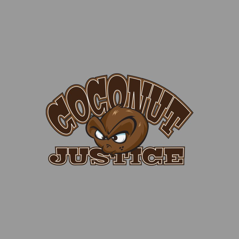Coconut Justice Logo Accessories Zip Pouch by Coconut Justice's Artist Shop