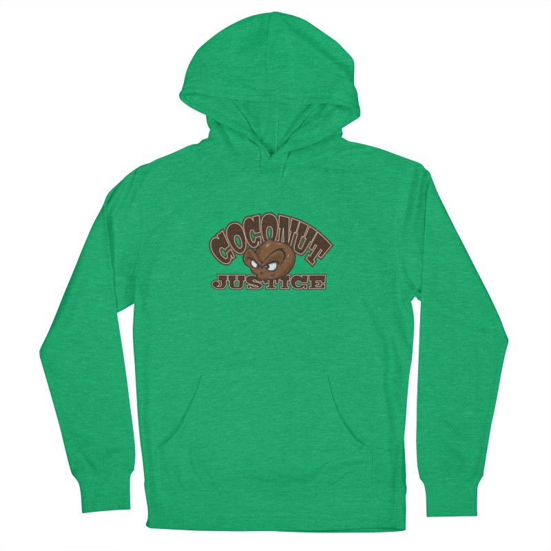 Coconut Justice Logo Men's French Terry Pullover Hoody by Coconut Justice's Artist Shop